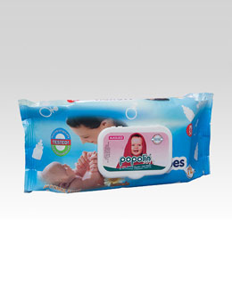 Popolin soft wet wipes